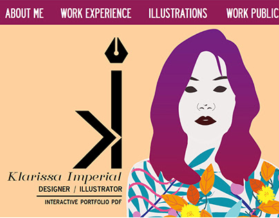 Interactive Portfolio PDF