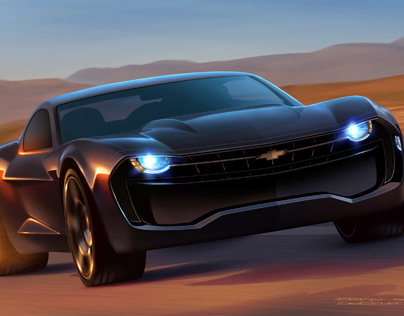 Chevrolet Camaro On Behance