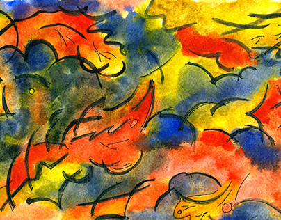 Watercolor fantasies