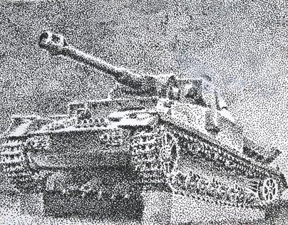 Tanks-drawings and studies