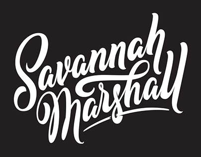 Savannah Marshall Logotype