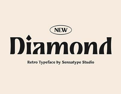 Diamond - Retro Typeface