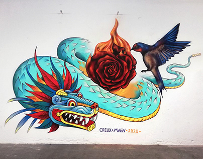Rosa de foc & Quetzalcoatl