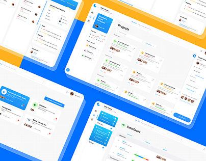 Project Management Dashboard UI / Selective Screens