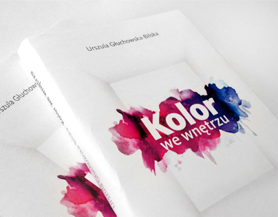 Book cover | Kolor we wnętrzu