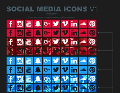Social media icons v1