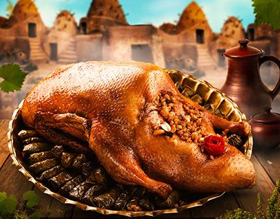 "Bahia Oriental Food Restaurant "" poster """