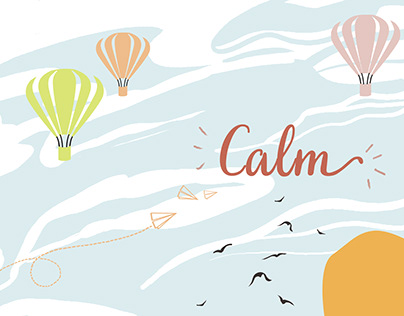 Calm - A Cushion Collection