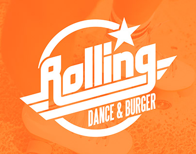 Rolling Dance Burger - Graphic Design