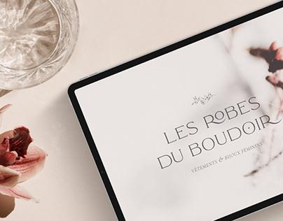 Les Robes du Boudoir | Eshop Branding