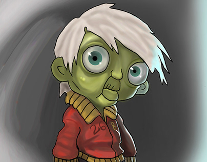 Zombie child character