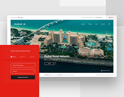 Shutterstock Redesign