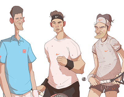 Kings of tennis
