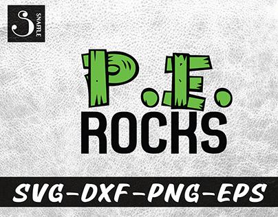 P.E. ROCKS