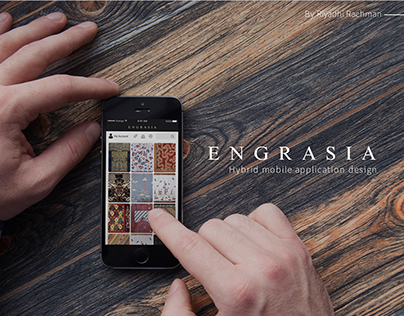 Engrasia Hybrid Mobile Application Design
