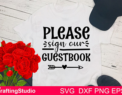 Please Sign Our Guestbook SVG