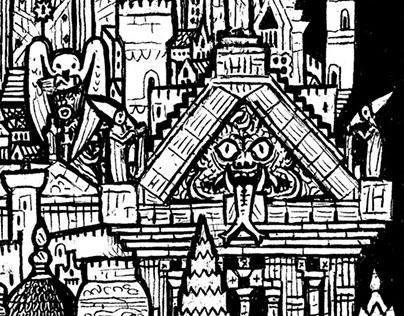 Amphisbhene card: Gomorrha city