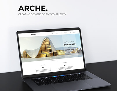 Arche Project - Landing Page