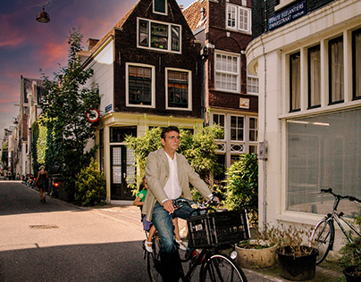 Amsterdam streets 2 (Nederland)