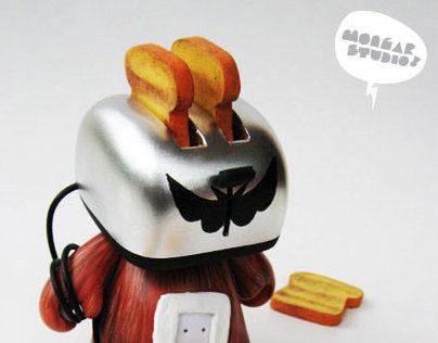 Toasterboy - custom munny