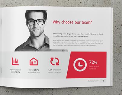 Business, Corporate Multipurpose A4 Brochure #4