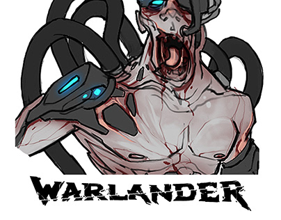 Warlander - Techno Characters and Props