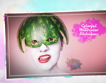Colorful Watercolor Slideshow - Project for Videohive