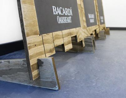 Bacardi Oakheart Chalkboards