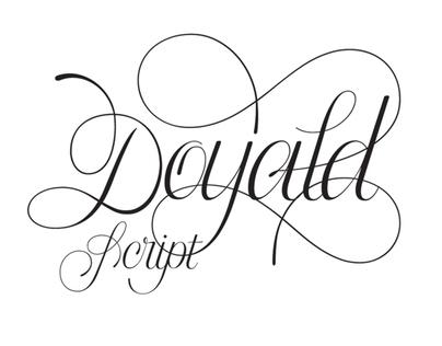 Doyald Script Typeface
