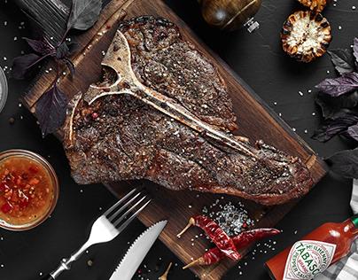 Steak t-bone