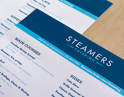 Steamers Branding, Website & Strategy