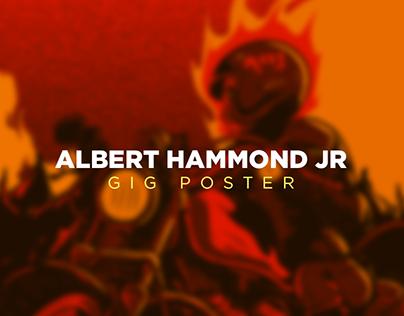 Albert Hammond Jr | Gig Poster