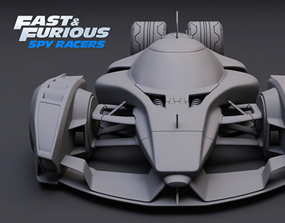 Fast & Furious Spy Racers / Echo Car