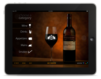 Restuarant Menu App for iPad