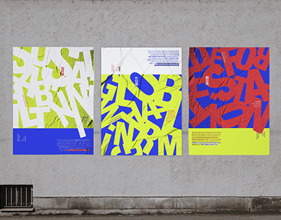 Typography Project: Lecture Poster Series