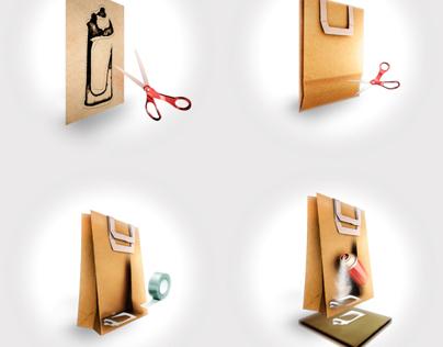 GRAFFITI PAPER BAG