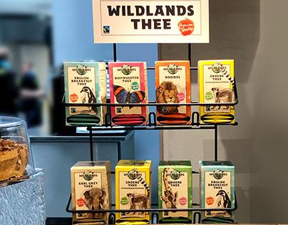 Vanhaaster Reclamebureau - Wildlands - thee/koffie