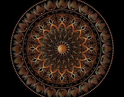 Mandala Circular/Form Explorations No 9