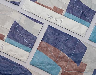藝術銀行x減簡手制 - 防疫問候包包裝設計