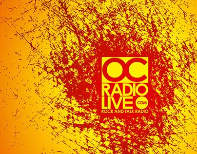 OC Radio Live Branding
