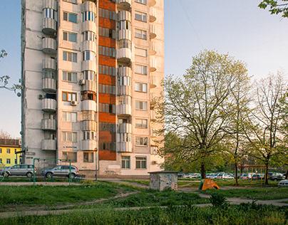 BULGARIA. CITY LANDSCAPES.