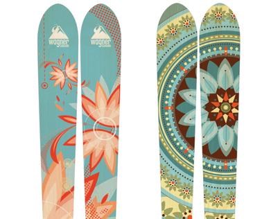 Wagner Custom Ski Graphics