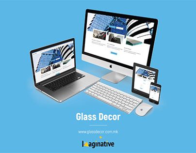 Web Design & Development – Glassdecor.com.mk | IA