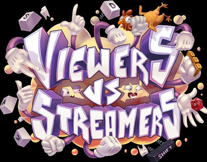 Viewers Vs Streamers Game Mode Logo