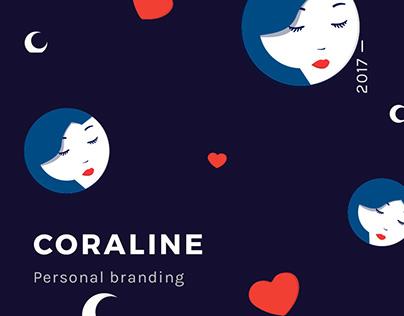 Coraline — Personal branding.