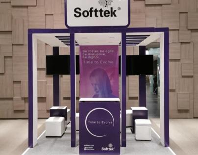 Diseño y fabricación stand Softtek