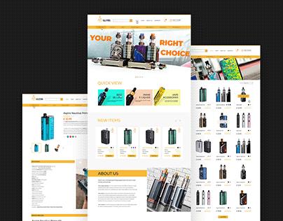 vapeshop website