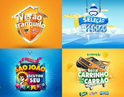 KV's | Logos | Promoções