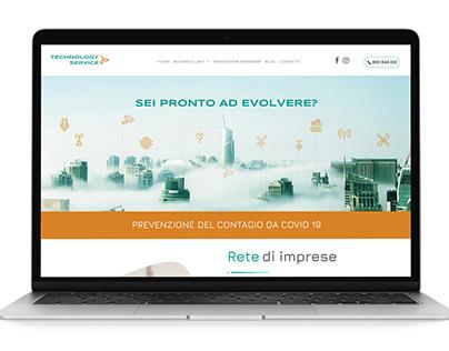 Sito web per Technology Service