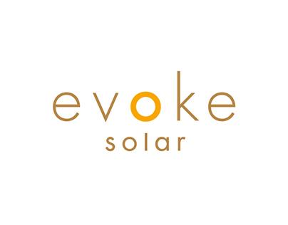 Evoke Solar Responsive Website and Logo
